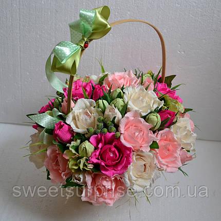 """Подарок из конфет к 8 марта """"Сладкая весна"""", фото 2"""