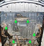 Защита картера двигателя и кпп Honda Accord VII  2002-, фото 7