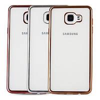 TPU чехол для Samsung Galaxy A7 2017 Duos SM-A720 (3 кольори в наявності)