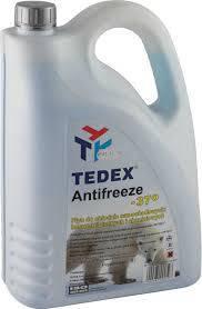 Антифриз TEDEX Antifreeze -37 червоний (кан.5л), фото 2