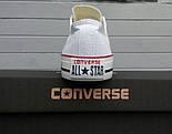 Женские кеды Converse All Star Женские конверс - original (конверсы низкие). Топ Реплика, фото 3