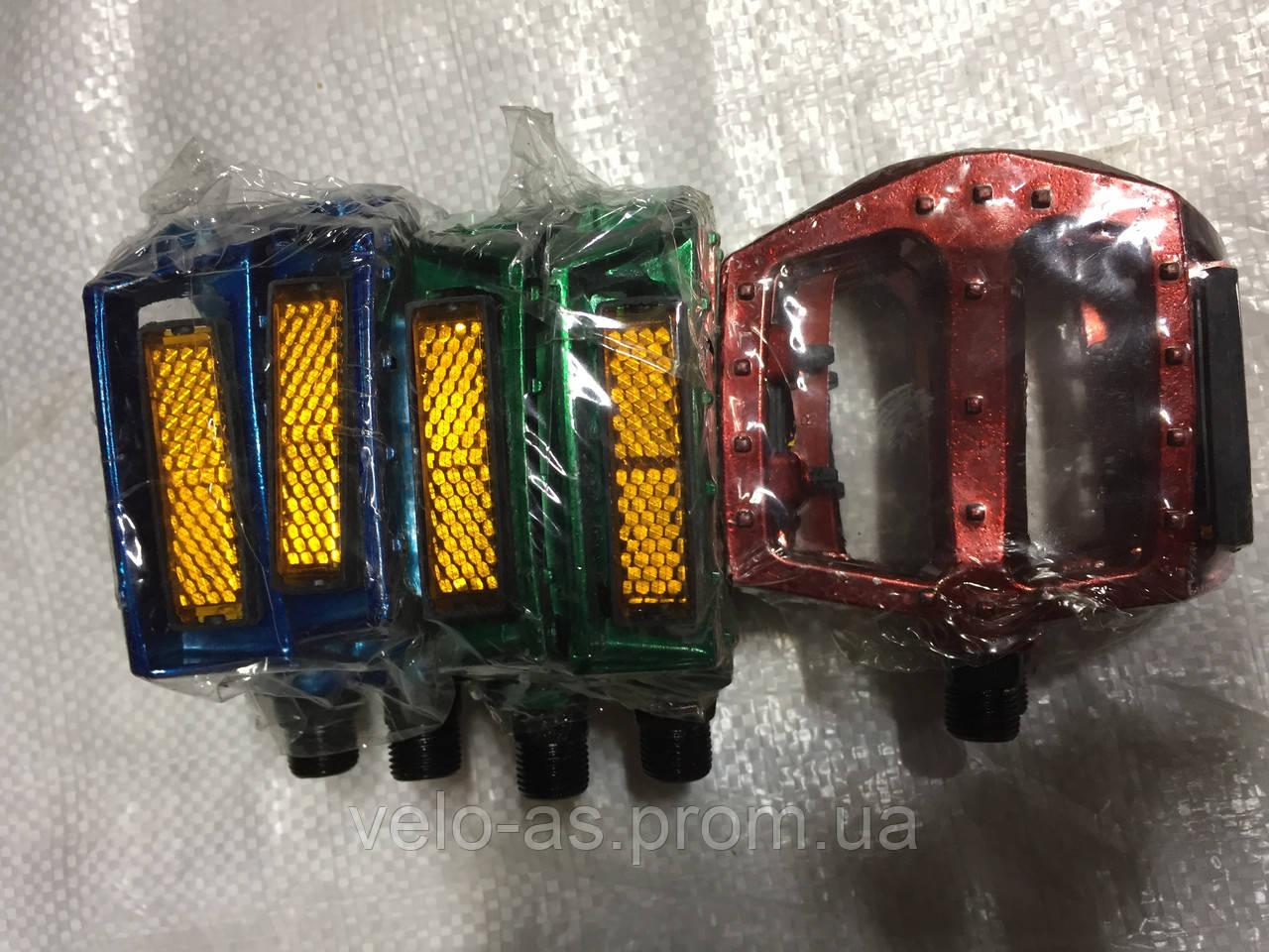 Педаль MTB цветные алюминевые