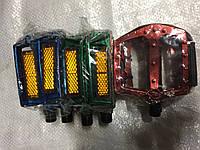 Педаль MTB цветные алюминевые, фото 1