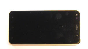 Дисплей с сенсором Nomi i5530 Space X золотистый, фото 2