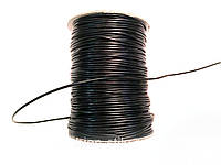 Шнур вощеный,лаковый 100м в рул ( толщина 1,5мм)