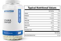 Витамины Myprotein Vitamin B Complex 120 капс.