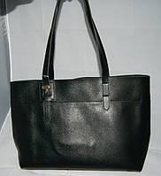 Чёрная женская сумка для покупок Voila (Wallaby)