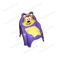 """Горшок детский """"Тигренок"""" фиолетовый"""