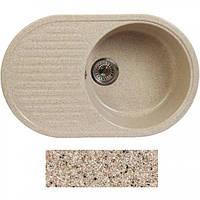 Мойка гранитная Fosto 74x46 покрытие 300 песок