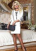 Романтичне плаття ніжного молочного кольору