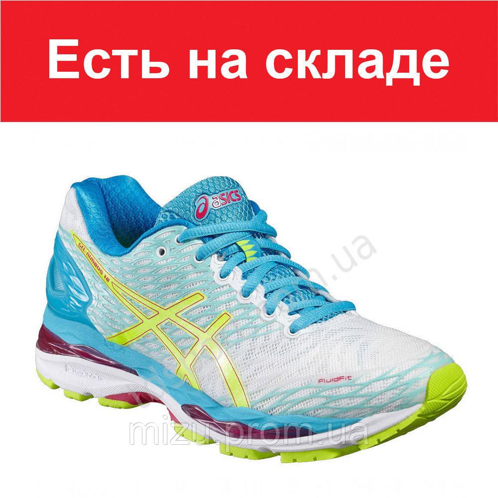 e6e6d2823913 Кроссовки для бега женские ASICS GEL-Nimbus 18 - Интернет-магазин Mизу в  Днепре