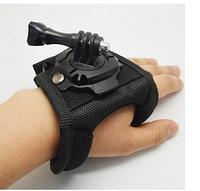 Крепление на кисть руки (типа перчатка) для экшн камер Xiaomi, SJCam, GoPRO (код № XTGP134L)
