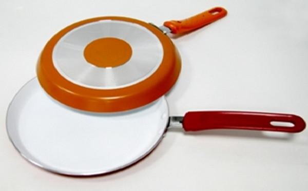 Сковородка блинная керамика 24см Vincent VC-4450-24mix
