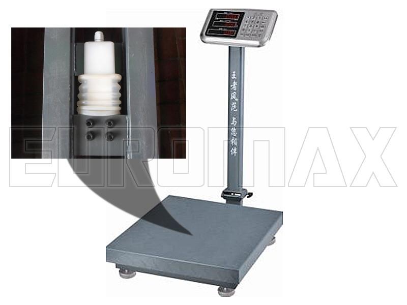 Весы электронные торговые BITEK 300кг с усиленной платформой и металл. кнопками 40х50см YZ-909-G7S-300kg