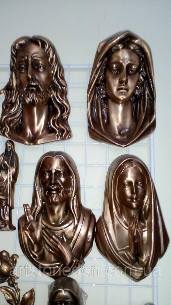 Накладки из бронзы на памятник в ассоритменте