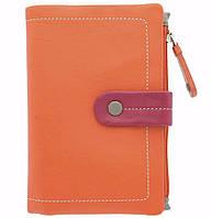 Женское портмоне Visconti МIMI M87 Malibu оранжевое