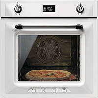 """Многофункциональный духовой шкаф  с функцией """"пицца"""" Smeg SFP6925BPZE белый"""