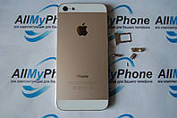 Корпус  Apple iPhone 5 имитация 5S золотой
