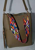 Стильная женская сумка-тоут Voila (Wallaby) бежевого цвета