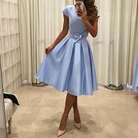 Платье из коттона 6509