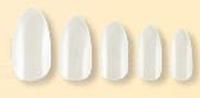 Ногти АН-0075 прозрачные короткие (уп/24шт) QPI   PROFESSIONAL