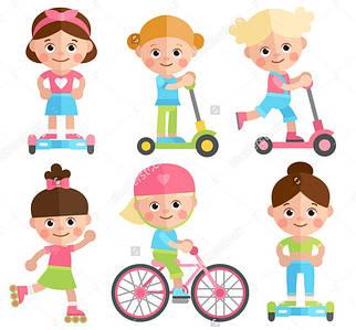 Велосипеды, самокаты, толкатели, детский транспорт