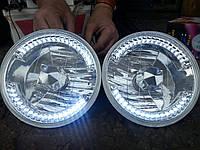 Тюнинг фары на ВАЗ 2101 или Ниву с ходовыми лгнями Светомания №1 (на 36 диодов).