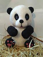 Игрушка валяная из шерсти Панда
