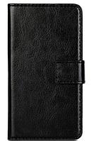 Кожаный чехол книжка для LG Optimus L70 черный