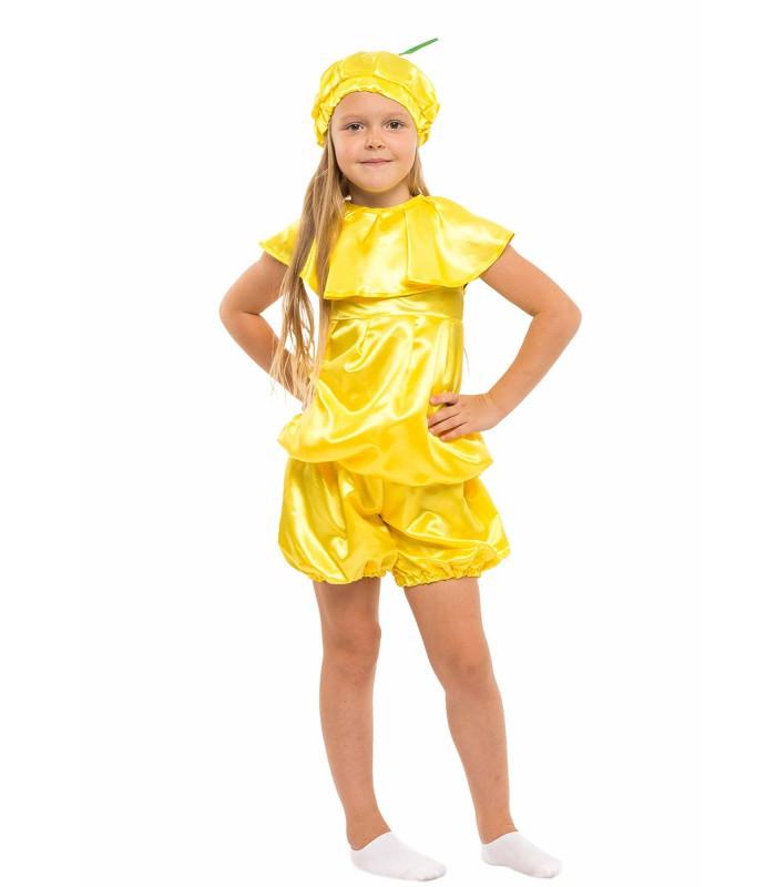 Карнавальний костюм Лимона на свято Весни (4-8 років)