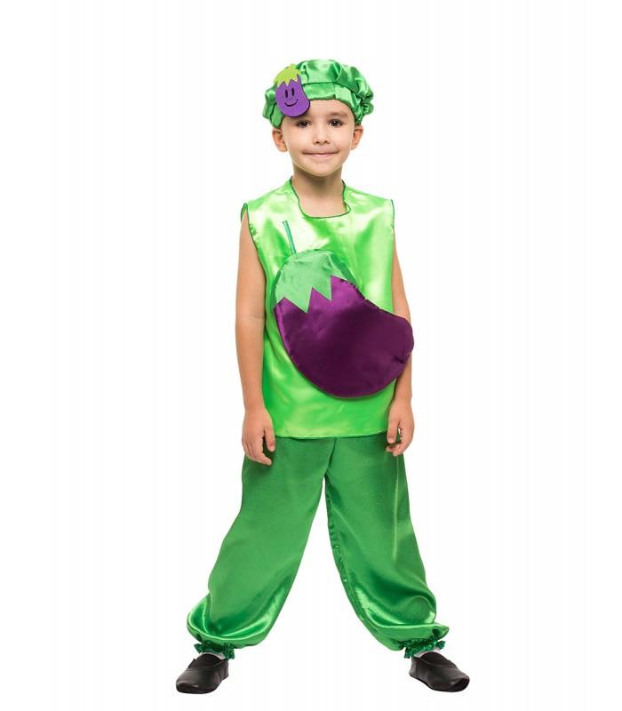 Карнавальный костюм Баклажана на праздник Весны (4-8 лет)