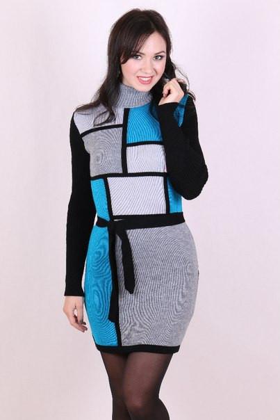 Вязаное платье  Plaza