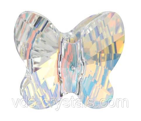 Хрустальные бусины Swarovski бабочки 5754 Crystal АВ