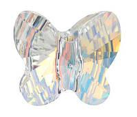 Хрустальные бусины Swarovski бабочки 5754 Crystal АВ, фото 1