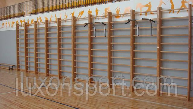 Шведская Стенка Гимнастическая для Школ (дерево-Ясень)