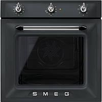 Встраиваемая духовка Smeg SF6903NO черная, матовая