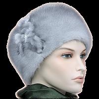 Женские шапки из норки
