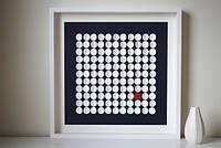 Картина пожеланий (Размер рамки 50х50 см, 100 кругов)