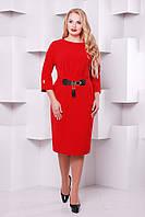Нарядное платье  Тэйси красный 52,54,56,58р, фото 1
