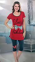 """Пижама женская футболка с лосинами, """"Fancy secret"""", Dalmina, Турция"""