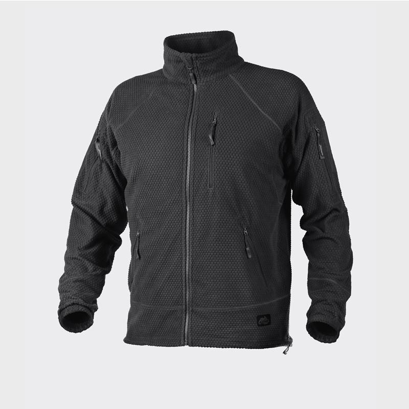 Куртка ALPHA TACTICAL - Grid Fleece - черная