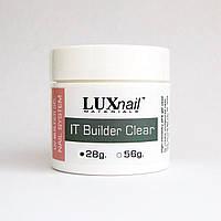 IT Builder Clear  28g / 1 fl oz, LUXnail, прозрачный гель для наращивания США