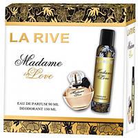 Женский подарочный набор (Туалетная вода/дезодорант) LA RIVE MADAME IN LOVE 236477