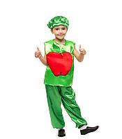 Карнавальный костюм Яблока на праздник Осени (4-8 лет)