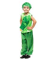 Карнавальный костюм Огурца Огурец на праздник Осени Весны (4-8 лет)