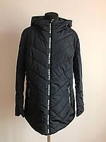 Молодежная женская куртка баталы