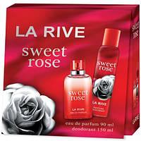 Женский подарочный набор (Туалетная вода/дезодорант) LA RIVE SWEET ROSE 236101