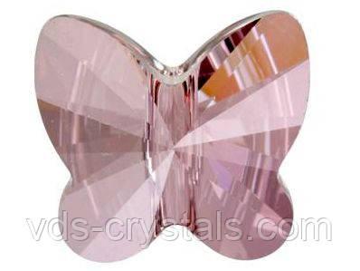Бусины из горного хрусталя Swarovski бабочки 5754 Crystal Antique Pink