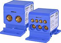 Блок распределительный ETI EDBM-1/N (160А, 1x4-50; 3x2,5-25; 4x2,5-16), 1102410