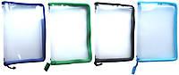 Папка пластиковая прозрачная на молнии А4